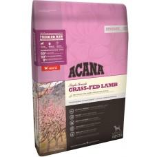 Acana lamb & okanagan apple GRAIN FREE - суха храна за чувствителни кучета с агне и ябълки за всички породи и възрасти, Канада - 11,4 кг