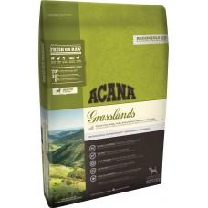 Acana Grasslands GRAIN FREE с Агне, Пуйка, Патица и Щука - суха храна за всички породи кучета, Канада - 11,4 кг