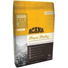 Acana Prairie Poultry GRAIN FREE - суха храна за кучета с месо от Пиле и Пуйка, за всички породи и възрасти, Канада - 17 кг