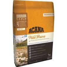 Acana Wild Prairie GRAIN FREE - суха храна за кучета с пилешко, пуешко месо, яйца и риба, за всички породи и възрасти, Канада - 11,4 кг