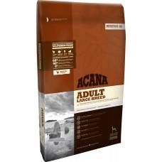 Acana Adult Large Breed GRAIN FREE - суха храна с месо от Пиле, Яйца и Риба, за пораснали кучета от Едрите породи, Канада - 17 кг