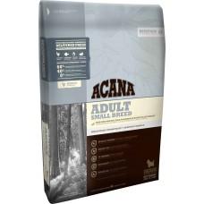 Acana Adult Small Breed GRAIN FREE - суха храна с месо от Пиле, Яйца и Риба, за пораснали кучета от малките породи, Канада - 6 кг