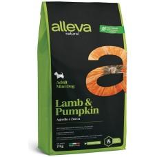 ALLEVA® NATURAL (ADULT MINI) LAMB & PUMPKIN - пълноценна храна за пораснали кучета, над 1 година, малки и дребни породи, Италия - 12 кг P01211/124