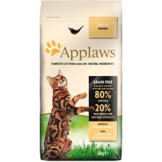 Applaws Adult Chicken GRAIN FREE - за котки над 1 година с 80% Пиле 400 гр
