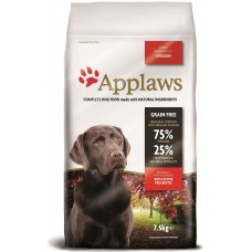 Applaws Adult Large Breed Chicken GRAIN FREE - за израстнали кучета от едри породи над 18 месеца 75% пиле 15 кг