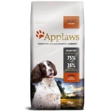 Applaws Adult Small Medium Breed Chicken GRAIN FREE - за израстнали кучета от мини и средни породи над 12 месеца 75% пиле 2 кг