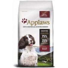 Applaws Adult Small Medium Breed Chicken with Lamb GRAIN FREE - за израстнали кучета от мини и средни породи над 12 месеца 75% агне и пиле 2 кг