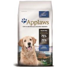 Applaws Adult All Breeds Lite GRAIN FREE - диетична храна за израстнали кучета от всички породи над 12 месеца 75% пиле 2 кг