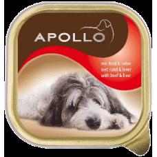 APOLLO – ПАСТЕТ Говеждо месо и дроб, пълноценна храна за израснали кучета, Германия - 300 гр