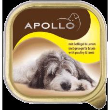 APOLLO – ПАСТЕТ Птиче и агнешко месо, пълноценна храна за израснали кучета, Германия - 300 гр