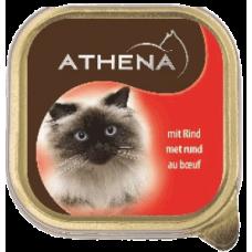 ATHENA – ПАСТЕТ Говеждо месо, пълноценна храна за израснали котки, Германия - 100 гр