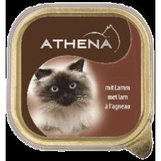 ATHENA – ПАСТЕТ Агнешко месо, пълноценна храна за израснали котки, Германия - 100 гр