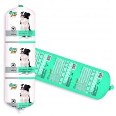 Салам за кучета BasPet с говеждо, подходящ за пораснали кучета над 1 година, 1 кг, NUGAPE Испания