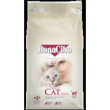 BONACIBO CAT ADULT CHICKEN & ANCHOVY - суха храна за пораснали котки от всички породи, над 1 година - с пиле, аншоа и ориз, Турция - 5 кг