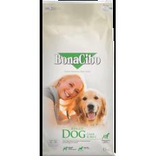 BONACIBO DOG ADULT LAMB & RICE - суха храна за пораснали кучета от всички породи, над 1 година - агнешко месо и ориз, Турция - 15 кг