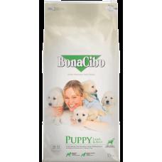 BONACIBO PUPPY LAMB & RICE - суха храна за подрастващи кученца от всички породи, до 1 година - агнешко месо и ориз, Турция - 15 кг