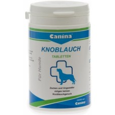 Canina Petvital Garlic Tablets - премахва паразити, силен антибактериален ефект 180 гр., 45 таблетки