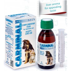 CARMINAL© PETS - При стомашни разтройства - 150 мл CATALYSIS, S.L. - ИСПАНИЯ