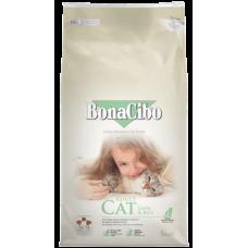 BONACIBO CAT ADULT LAMB & RICE - суха храна за чувствителни и капризни котки от всички породи, над 1 година - с агнешко месо и ориз, Турция - 5 кг