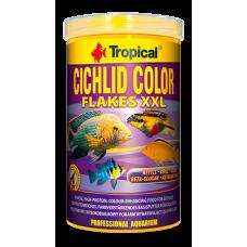 TROPICAL Cichlid Color – храна на люспи за цихлиди за подсилване на цветовете