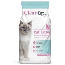 Clear Cat Baby Powder - натриев бентонит БЕБЕШКА ПУДРА, с висока способност да се слепва на топче - 100% естествена, 5 кг - Турция