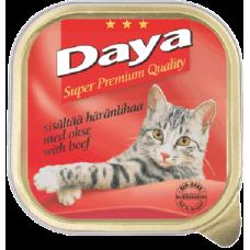 DAYA – Телешко месо, пастет, пълноценна храна за котки, подходяща за ежедневна употреба, Германия - 100 гр