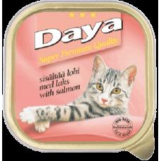 DAYA – Сьомга, пастет, пълноценна храна за котки, подходяща за ежедневна употреба, Германия - 100 гр