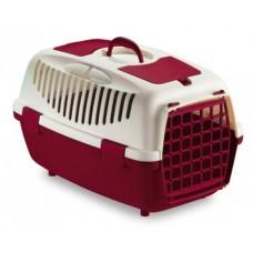 GULLIVER 2 - транспортна чанта за кучета и котки, с процеп за колан, 55 х 36 х 35Н см - ЧЕРВЕНА STEFANPLAST Италия