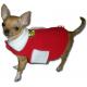 КОЛЕДНА ДРЕХА - топла, поларена дреха за кучета и котки, ДОГИФЕШЪН БЪЛГАРИЯ