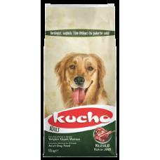 KUCHO DOG ADULT LAMB & RICE - суха храна за пораснали кучета от всички породи, над 1 година - агнешко месо, Турция - 15 кг