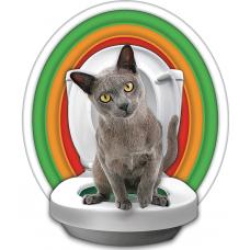 Litter Kwitter Cat Toalet Training System - система за обучение на котки за ползване на човешка тоалетна LK1