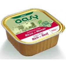 Oasy Adult - пастет за пораснали кучета, с говеждо, 150 гр - Италия