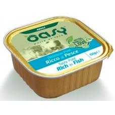 Oasy Adult - пастет за пораснали кучета, с риба, 150 гр - Италия