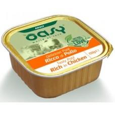 Oasy Adult - пастет за пораснали кучета, с пилешко месо, 150 гр - Италия