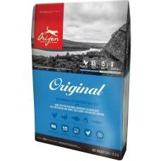 Orijen Dog Original Adult GRAIN FREE - суха храна за кучета от всички породи, над една година, с пиле, пуйка, яйца и риба, БЕЗ ЗЪРНО, Канада - 11,4 кг
