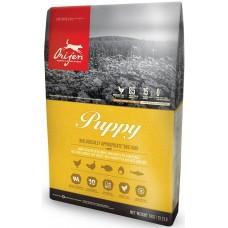 Orijen Dog Puppy GRAIN FREE - суха храна за подрастващи кучета от малки и средни породи, до една година, с пиле, пуйка, яйца и риба, БЕЗ ЗЪРНО, Канада - 11,4 кг