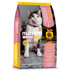 S5 Nutram Sound Balanced Wellness® Adult and Senior Natural Cat Food 6,8 кг