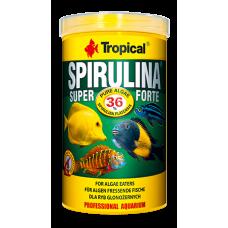 TROPICAL Spirulina Super Forte - растителна храна за риби люспи