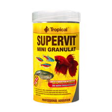 TROPICAL Supervit Mini Granulat - гранулирана храна за рибки