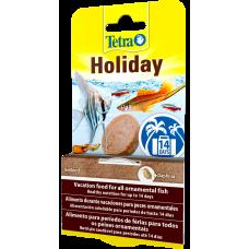 Tetra Holiday - хранителният блок с гел осигурява на рибите до 14 дни хранене