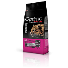 OPTIMA CAT Exquisite Chicken&Rise (пиле и ориз) 75% месо Хипоалергична, Суперпремуим храна за котки от всички породи с ПРИДИРЧИВ ВКУС или с ПРОБЛЕМИ с ХРАНОСМИЛАНЕТО 0,400 кг