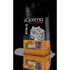 OPTIMA CAT Adult Salmon&Rise (сьомга и ориз) 75% месо, Хипоалергична, Суперпремуим храна за СРЕДНО АКТИВНИ котки от всички породи 0,400 кг