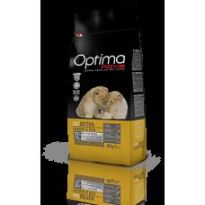 OPTIMA CAT Kitten Chicken&Rise (пиле и ориз) 75% месо Суперпремуим храна за подрастващи котета от 2 до 12 месеца от всички породи, също така за бременни и кърмещи котки 0,400 кг