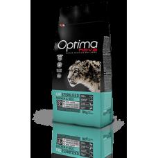 OPTIMA CAT Sterilised Chicken&Rise (пиле и ориз) 75% месо Хипоалергична, Суперпремуим храна за КАСТРИРАНИ котки от всички породи 0,400 кг