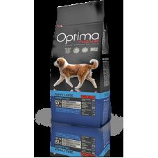 OPTIMA NOVA PUPPY LARGE BREED CHICKEN&RICE (пиле и ориз) 65% месо GRAIN FREE, Хипоалергична, Суперпремуим храна за кучета от 2 до 15 месеца 12 кг