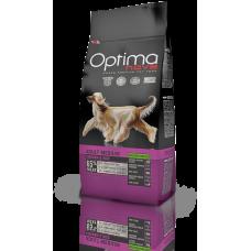 OPTIMA NOVA ADULT MEDIUM CHICKEN & RICE (пиле и ориз) 65% месо GRAIN FREE, Хипоалергична, Суперпремуим храна за кучета над 12 месеца 12 кг
