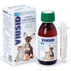 VIUSID © PETS - Хранителна добавка за увеличаване на имунната защита - 150 мл CATALYSIS, S.L. - ИСПАНИЯ