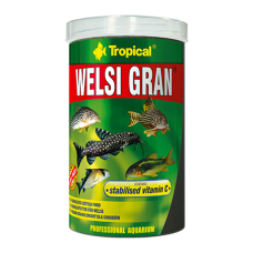TROPICAL Welsi Gran - гранулирана храна за дънни рибки