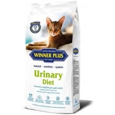 WINNER PLUS Urinary Diet - пълноценна храна за пораснали котки от всички породи, над 1 година, с уринарни проблеми - 2 кг, Германия
